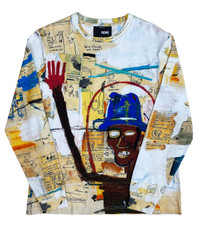 "Basquiat ""Toxic"" Unisex Long Sleeve Shirt"