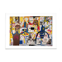 "Basquiat ""Famous Moon King"" Post Card"