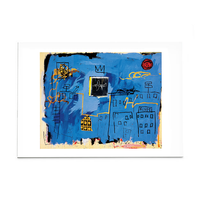 "Basquiat ""Untitled"", 1981 Post Card"