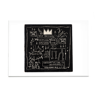 "Basquiat ""Beat Bop"" Post Card"