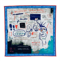 Basquiat Hollywood Africans Bandana