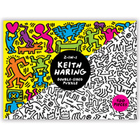 Keith Haring 2-sided Puzzle -  500 Pieces