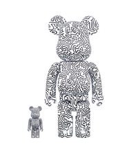 Be@rbrick Keith Haring #4 100% and 400%