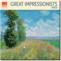 MFA Boston Great Impressionists 2021 Wall Calendar