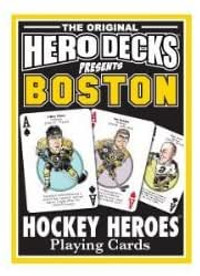 Boston Bruins Hockey Heroes Playing Cards