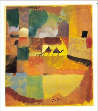 Paul Klee Two Camels and One Donkey Holiday Cards