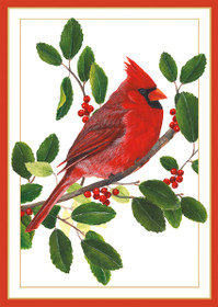 Cardinal on Branch Holiday Cards