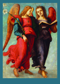 Piero di Cosimo Two Angels Holiday Cards
