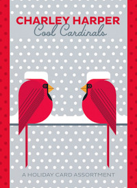 Charley Harper: Cool Cardinals Holiday Card Assortment Holiday Cards