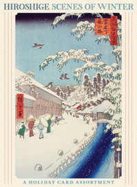 Hiroshige: Scenes of Winter Holiday Card Assortment Holiday Cards