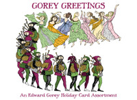 Gorey Greetings: An Edward Gorey Holiday Card Assortment Holiday Cards