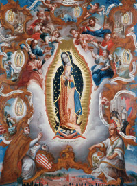 Sebastian Salcedo Our Lady of Guadalupe Holiday Cards
