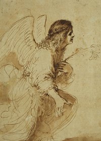 Guernico Angel Annunciation Holiday Cards