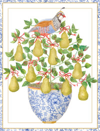 Partridge in a Pear Tree Holiday Cards