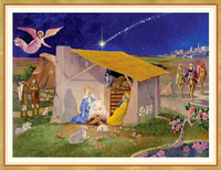 Nativity Scene Holiday Cards