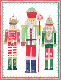 March of the Nutcrackers Holiday Cards