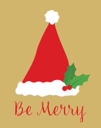Be Merry Holiday Cards