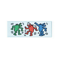 Keith Haring Magnet - Dancing Dogs
