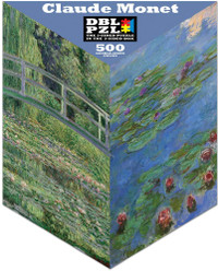 Claude Monet Double-Sided Puzzle - 500 Pieces