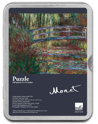 Monet, The Water Lily Pond Puzzle - 100 Pieces