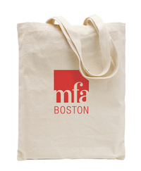 MFA Boston Logo Canvas Tote Bag