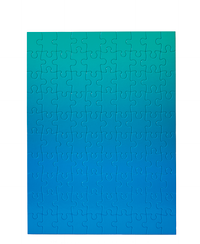Gradient Blue/Green Puzzle - 100 Pieces