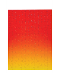 Gradient Red/Yellow Puzzle - 100 Pieces
