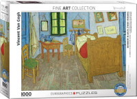 Van Gogh, Bedroom in Arles 1000 Piece Puzzle
