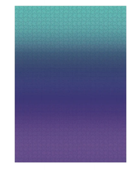 Gradient Puzzle Teal/Blue/Purple - 1000 Pieces