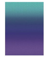 Gradient Puzzle Teal/Blue/Purple - 1000 Pieces