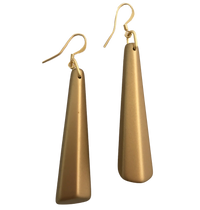 Barile Gold Resin Drop Earring