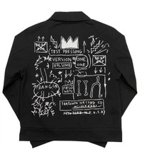 "Basquiat ""Beat Bop "" Mechanic's Jacket"