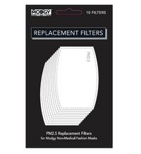 Face Mask - Replacement PM 2.5 Filters - pack of 10