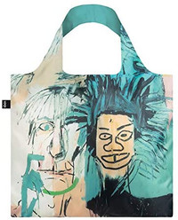"Basquiat ""Warhol"" Packable Tote Bag"