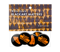 Black Art Matters 5 Button Set