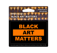 Black Art Matters Sticker