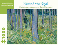 Van Gogh, Undergrowth-Two Figures  Puzzle - 1000 Pieces