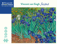 Van Gogh, Irises Puzzle - 1000 Pieces