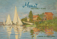 Monet Early Years Book of Postcards