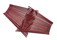 Medium Chopstick Folding Basket in Red