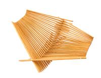 Medium Chopstick Folding Basket in Tea Stain