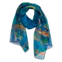 Cezanne The Brook Oblong Chiffon Scarf