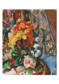 Cezanne The Flowered Vase Small Boxed Note Cards