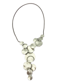 Bubble Front Connect Necklace