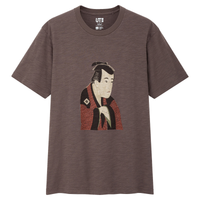 Edo Ukiyo-e: Sharaku Brown T-Shirt