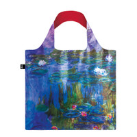 "Monet ""Water Lilies"" Packable Tote Bag"