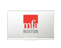 MFA Boston Aluminum Card Case