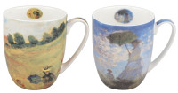 Monet Scenes with Women Mug Pair