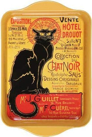 Le Chat Noir Mini Metal Tray