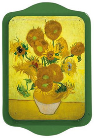 Van Gogh Sunflowers Mini Metal Tray